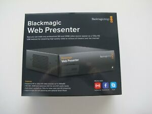 Blackmagic Design Web Presenter Live Converter - Used once in a demo setup