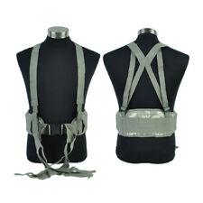 Adjustable Molle Padded Waist Belt Nylon Tactical Gear Airsoft Paintball Belt