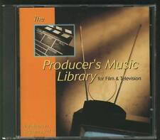 PRODUCER'S MUSIC LIBRARY FOR FILMS & TELEVISION VARIATIONS IN SUSPENSE CD