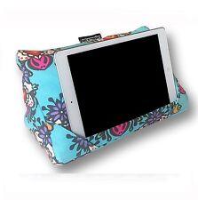 Coz-e-Reader Tablet Soporte Almohada Popsicle Ipad Cojín limpie Floral Regalo