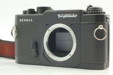 [Almost UNUSED] Voigtlander Bessa L Black 35mm Film Camera L39 Leica from Japan