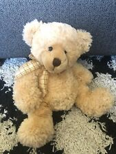 12� Mooch Plush Bear Russ Berrie Bears The Past Collection Beige Doll Vintage