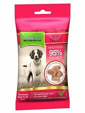Natures Menu Real Meaty Dog Treats with Beef - 60g - 546267