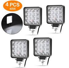 4X 48W LED Arbeitsscheinwerfer lampen Rückfahrscheinwerfer Scheinwerfer 12V
