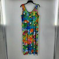 JAMS WORLD day glo summer maxi dress