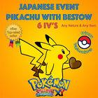 Pokémon ORAS – PIKACHU EVENT OFRENDA / BESTOW 6IV's - ANY NATURE