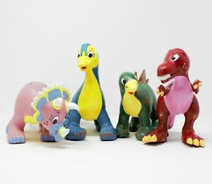 Dinosaur Chumps (set of 4) by Green rubber toys
