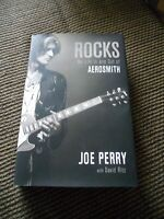 Joe Perry Aerosmith My Life In & Out Signed Autographed Book PSA Guaranteed #1