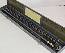 HP / Agilent 906A Coaxial Sliding Load + 4 Rods & Connectors, 50 Ohm 1-12.4 GHz