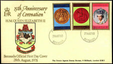 First Day Cover Bermudian Stamps