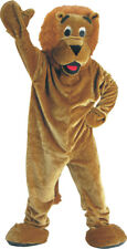 Morris Costumes Adult Unisex Animals Lion Mascot Costume One Size. UP298