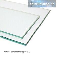 Klarglas Floatglas ESG 4mm Zuschnitt auf Maß Glasplatte Glasscheiben Glasboden