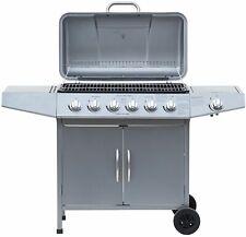 "Gasgrill ""DAYTON"" von El Fuego® 6 + 1 Brenner Grill BBQ Grillwagen Barbecue"