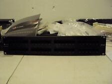 Siemon 48 Port Patch Panel # HD5-QP-48 - Used