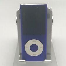 iPod Nano 4th Gen. 16GB Purple Good Condition