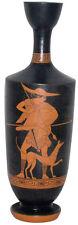 Lekythoi Vase Greek Pottery Museum Replica Reproduction