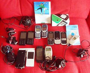 10 mobile phones,Nokia,Vodafone,Samsung, job lot/bundle