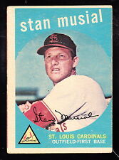 1959 TOPPS #150 STAN MUSIAL CARDINALS