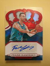 Frank Kaminsky 2018-19 Crown Royale Auto /49