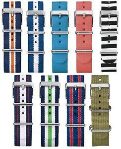 Timex Originals Weekender Fairfield Nylon Slip Thru Watch Strap 20mm 18mm