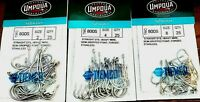 Umpqua Stainless Saltwater Hooks Tiemco  - Select Size (One Package)