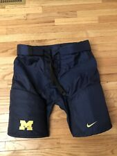 Michigan Wolverines NCAA Nike Game Worn Men's Hockey Pants Size L