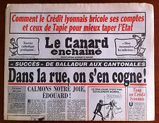 Le Canard Enchaîné 23/03/1994; Comment le Crédit Lyonnais bricole ses comptes