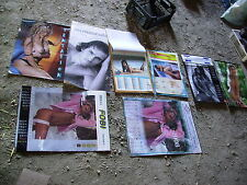 Calendrier  photos pin up femmes hommes  nues - erotiques tres grand format lot