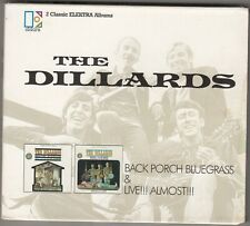 THE DILLARDS - back porch bluegrass / live almost CD