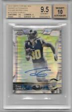 2015 Chrome Mini Pulsar Ref. Todd Gurley Autograph RC #07/15  BGS GEM MINT 9.5