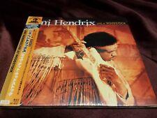 JIMI HENDRIX Live At Woodstock JAPAN Mini LP 2 CD 2000 W/Obi New! Ships fast!