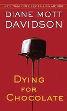 Dying For Chocolate by Diane Mott Davidson ~Goldy Schulz Mystery (Paperback)
