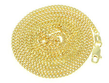 "10K Yellow Gold Cuban Men's Chain 24"" 2mm"