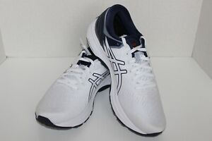 Asics Men's Gel Kayano 27 Running Shoes US 10 1011A767 White/Peacoat