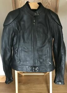 Belstaff East Fortune Blouson Woman's Leather Motorcycle Jacket (48) / NEW W/Tag