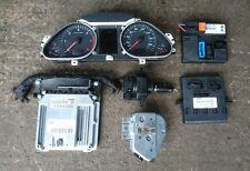 2005-2009 AUDI A6 C6 2.0 TDI Bre Kit Completo ecu y llave BCM 03G906016HS