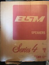 BSM SPEAKERS SERIES 4 / Stereo Speakers