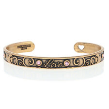 NEW Alex and Ani Love Bracelet - Rafaelian Gold Toned Adjustable Cuff
