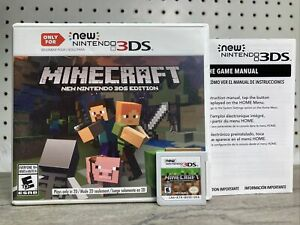 Minecraft New Nintendo 3DS Edition 2DS XL Models Only Open World Builder Game
