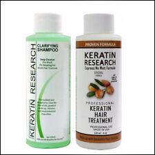 Professional BRAZILIAN KERATIN hair treatment 120ml w/ Clarifying Shampoo 120ml
