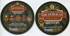 THE PUBLICAN HOUSE BREWERY Peterborough Canada BEER MAT COASTER SOUS-BOCK