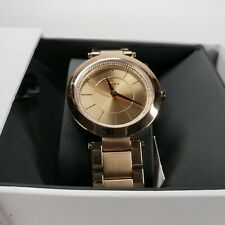 NWT DKNY Women's Watch NY2287 Rose Gold Tone Stainless Steel Stanhope $175 NEW