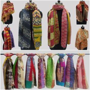 20 PC Wholesale Indian Kantha Cotton Scarves Bohemian shawl Stole