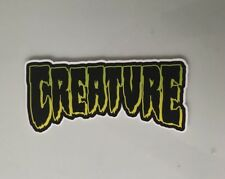 Creature Skateboards Sticker