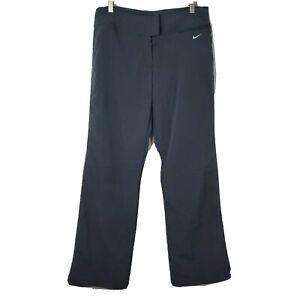 Nike Dri-Fit Womens Size Medium Gray Flat Front Outdoor Hiking Pants