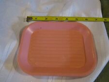 Fisher Price Fun with Food pink serving tray lunch tea dinner TV snack dessert