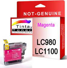 Tinta compatible NON-OEM para Brother LC1100 LC980 DCP-195C DCP-375CW M