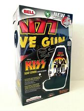 KISS • OFFICIAL LIVE NATION ROCK 'N' RIDE UNIVERSAL SINGLE CAR SEAT COVER • NEW
