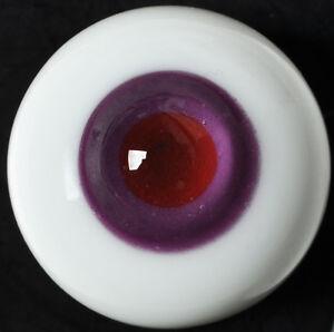 Good 18mm Purple Iris&Pupil Glass BJD Eyes for Reborn/newBorn BJD Doll
