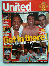 No 141 Manchester United Official Magazine May 2004